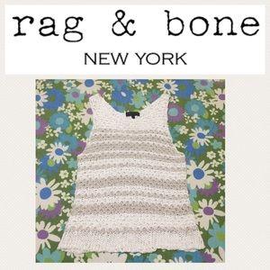Rag & bone NY summer knit tank